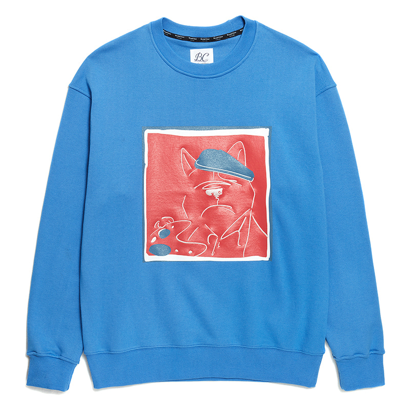 ILP MODERN ART KLEIN DOG SWEAT-SHIRTS CLASSIC BLUE