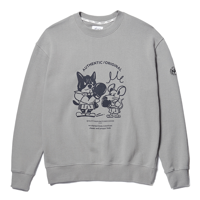 ILP THE YEAR OF THE RAT SWEAT-SHIRTS DUST GRAY