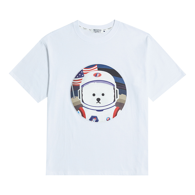 [RE-EDITION]APOLLO DOG PATCH 1/2 T-SHIRTS 2020VER WHITE