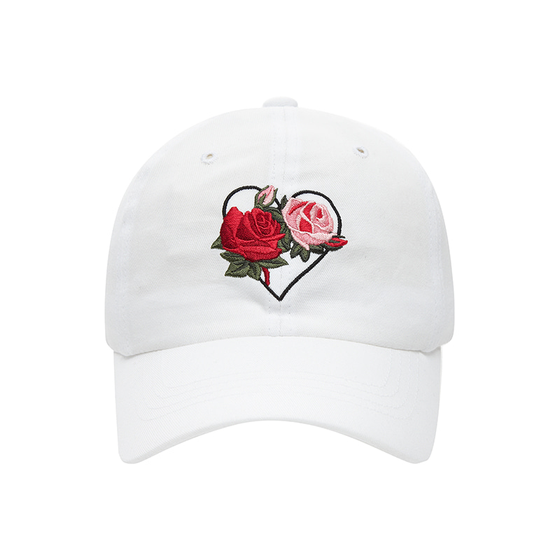 [NEW EDITION]FLOWER NOMANTIC BALL CAP WHITE