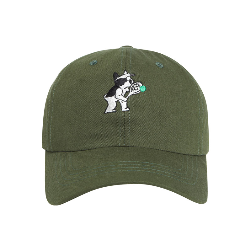 [Ball Collection]BC TENNIS LOGO BALL CAP GREEN