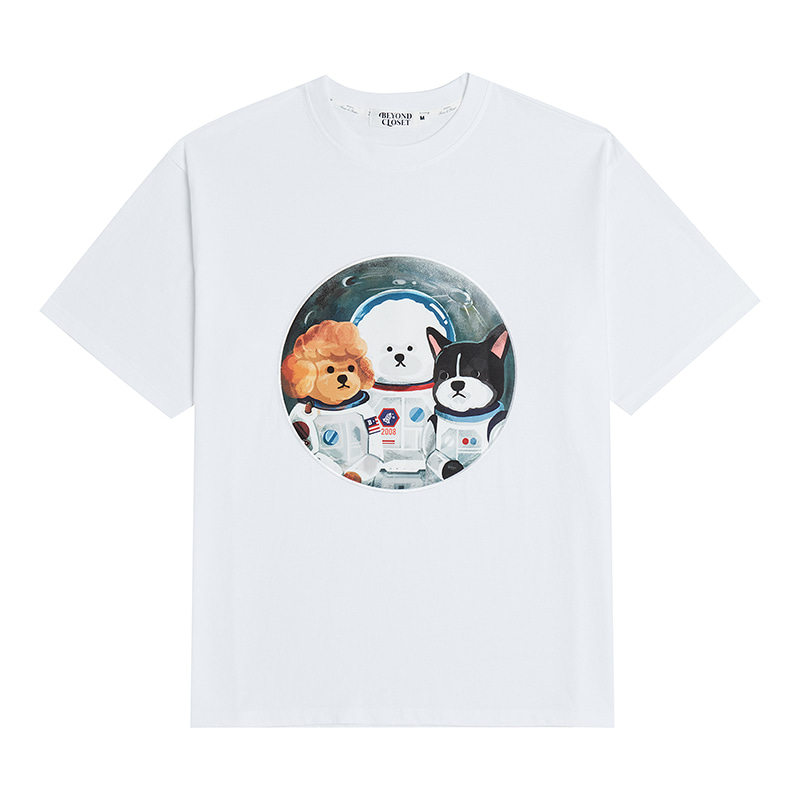 50TH EDITION APOLLO CREW 1/2 T-SHIRTS WHITE
